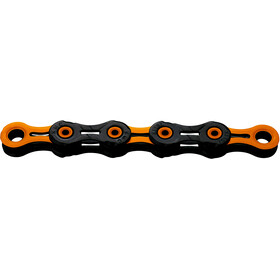 KMC X11 SL DLC Super Light Kette 11-fach schwarz/orange